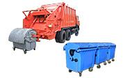 вывоз мусора евроконтейнерами