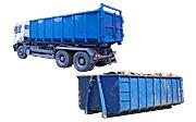 вывоз строительного мусора контейнерами 20-27 м3