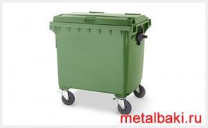 евроконтейнеры для мусора 1,1 м3
