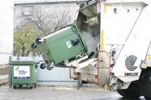 раздельный сбор мусора в контейнеры
