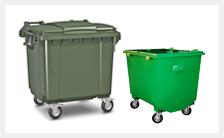 Евроконтейнеры для мусора