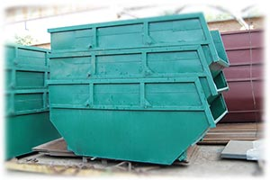 бункер для мусора 8м3 склад
